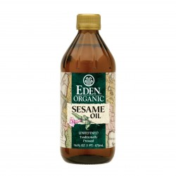 SESAME OIL ORGANIC EXTRA VIRGEN 473ML