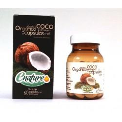 ACEITE COCO CAPSULAS 60 UNID EXTRA VIRGEN ORGANICO