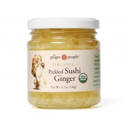 ORGANIC PICKLED GINGER 190GRS