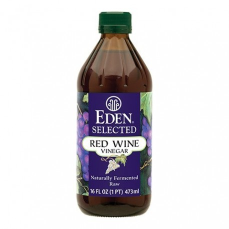 RED WINE VINAGER RAW 473 ML