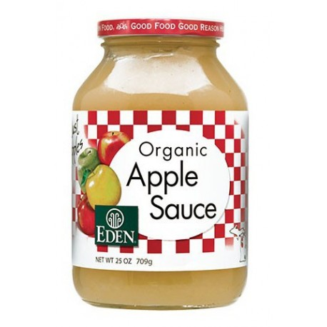 APPLE SAUCE ORGANIC 709 GRS
