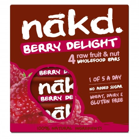 BERRY DELIGHT MULTIPACK 4 BARS 35 GRS