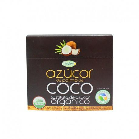 AZUCAR DE COCO ORGANICA SACHETS 4GRS X 24