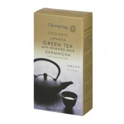 GEMAICHA ORGANIC GREEN TEA ROASTED RICE 20 BAGS