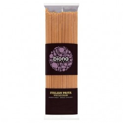 WHOLE SPAGUETTI ORGANIC 500GRS