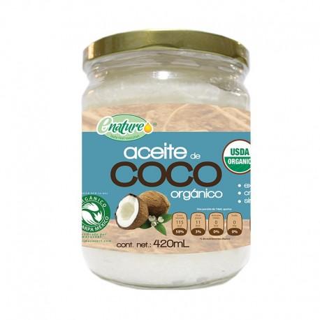 ACEITE COCO ORGANICO 420ML