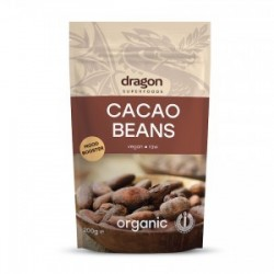 CACAO BEANS RAW ORGANIC 200GRS