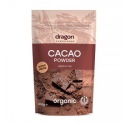 CACAO POWDER RAW ORGANIC 200GRS