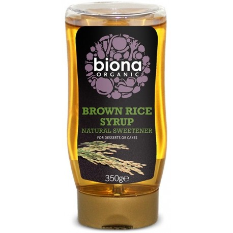 RICE SYRUP ORGANIC 350GRS