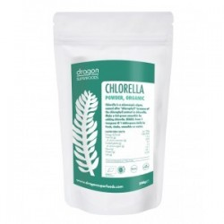 CHLORELLA POWDER RAW ORGANIC 200GRS