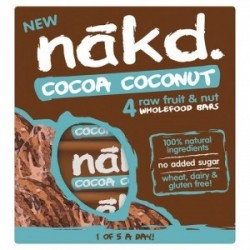 COCOA COCONUT MULTIPACK 4 BARS 35GRS