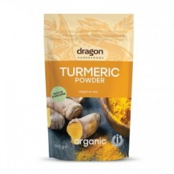 TURMERIC POWDER RAW ORGANIC 150GRS