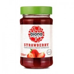 STRAWBERRY ORGANIC SPREAD 250GRS