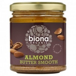 ALMOND BUTTER SMOOTH ORGANIC 170GRS
