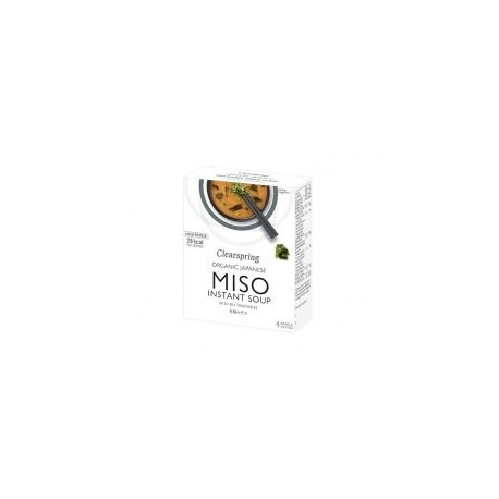 INSTANT ORGANIC MISO SOUP SEA VEGETABLE 4X10GRS
