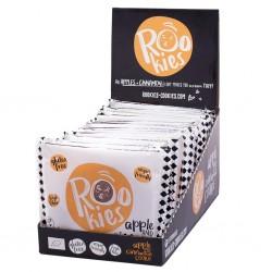 Apple cinnamon organic cookie 18 unidades de 40 gramos Marca Roobar