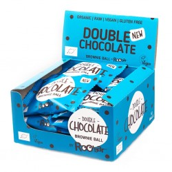 DOUBLE CHOCOLATE ORGANIC BROWNIE (12 X 40GRS )