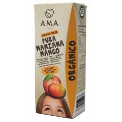 JUGO MANZANA MANGO ORGANICO 200 CC (PACK 3 UNIDADES)