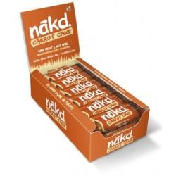 NAKD CARROT CAKE 35G (18 BARS)
