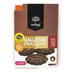 SNACK DE GALLETAS CAFE MOCA 0% AZÚCAR 90 GR