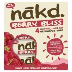 BERRY BLISS MULTIPACK 4 BARS 35 GR - OFERTA