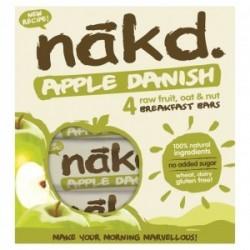 Oferta Apple danish multipack 4 barras 35 gramos Marca Nakd