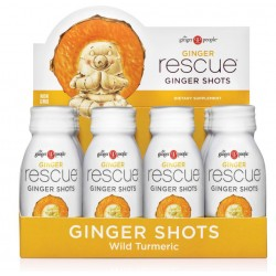 GINGER RESCUE WILD TURMERIC GINGER SHOT 56 CC X 12 UNIDADES