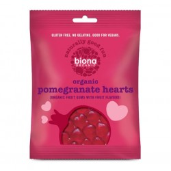 ORGANIC POMEGRANATE HEARTS 75 GR