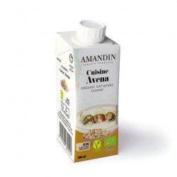 Crema organica de avena 200 cc Marca Amandin