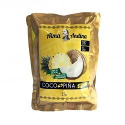 TROCITOS DE COCO NATURAL + PIÑA 25 GR