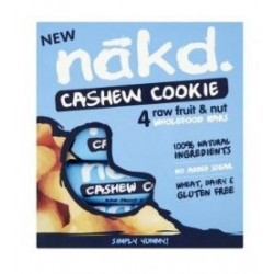 CASHEW COOKIE MULTIPACK 4 BARS 35GRS - OFERTA