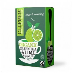 GREEN TEA - LIME GINGER 20 BAGS