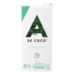 Bebida de coco 1litro Marca A de Coco