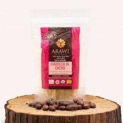 Manteca de cacao organico 50 gramos Marca Arawi