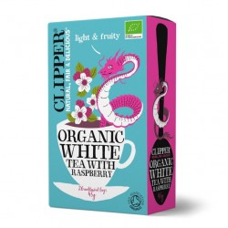 White tea raspberry 20 bags Marca Clipper