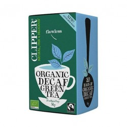 Green tea decaf 20 bags Marca Clipper