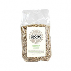 Hemp seed organic (Omega rich) 250 gramos Marca Biona