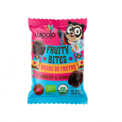 Kids bites frutilla y quinua organic 300 gramos Marca Wipala