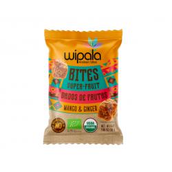 Bites mango & jengibre amaranto organic 360 gramos Marca Wipala