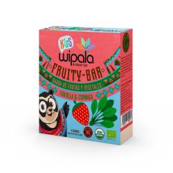 Kids bar frutilla quinua espinaca organic 150 gramos Marca Wipala