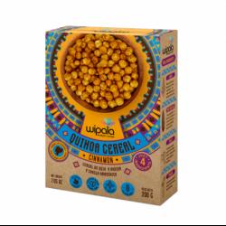Cereal canela y quinua 200 gramos Marca Wipala