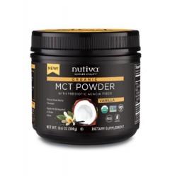 Mct powder vainilla 300 gramos Marca Nutiva