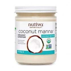 Aceite de coco manna 425 cc Marca Nutiva