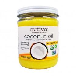 Aceite de coco butter 414 cc Marca Nutiva