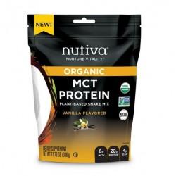 Proteina mct vainilla organica 390 gramos Marca Nutiva