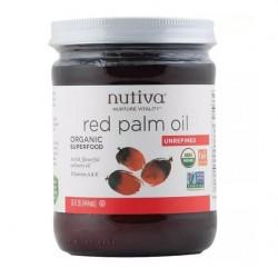 Aceite de palma roja 444 cc Marca Nutiva