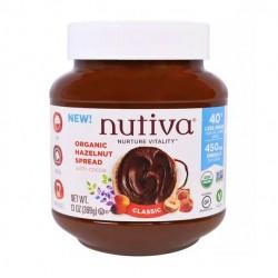 Crema de avellanas clasica 369 gramos Marca Nutiva
