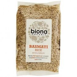Basmati brown rice organic 500 gramos Marca Biona