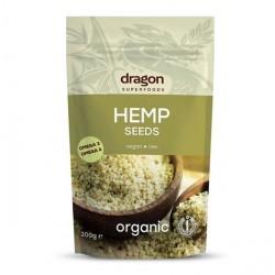Semillas organicas de cañamo peladas 200 gramos Marca Dragon