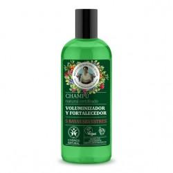 Shampoo voluminizador y fortalecedor 260 cc Marca Babushka Agafia